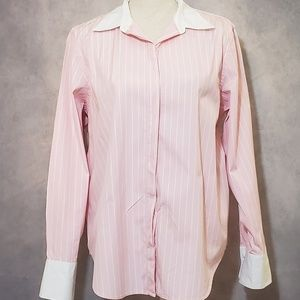 Lauren Ralph Lauren Women's Button Up Blouse